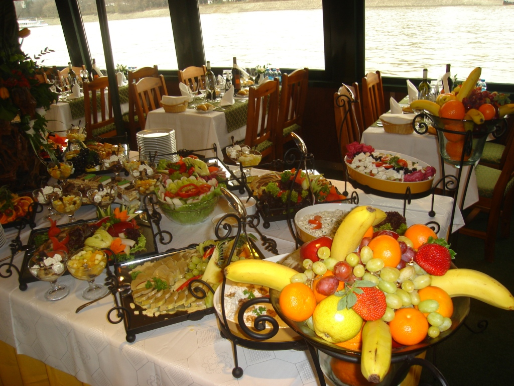 PLEASURE-BOAT WITH LUNCH, or DINNER